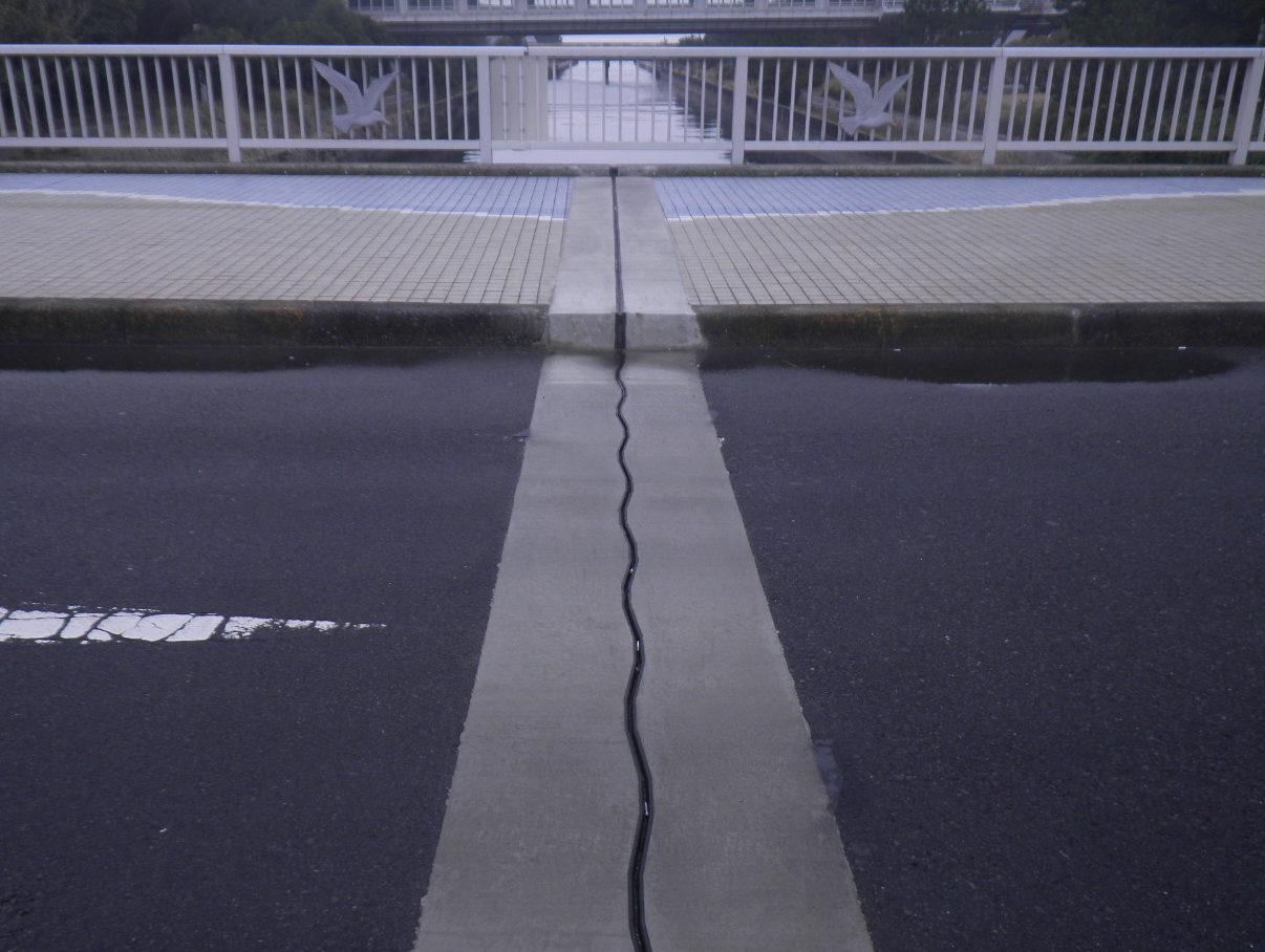 伸縮装置の地覆処理―意外な落とし穴!地覆次第で止水性は大きく変わる